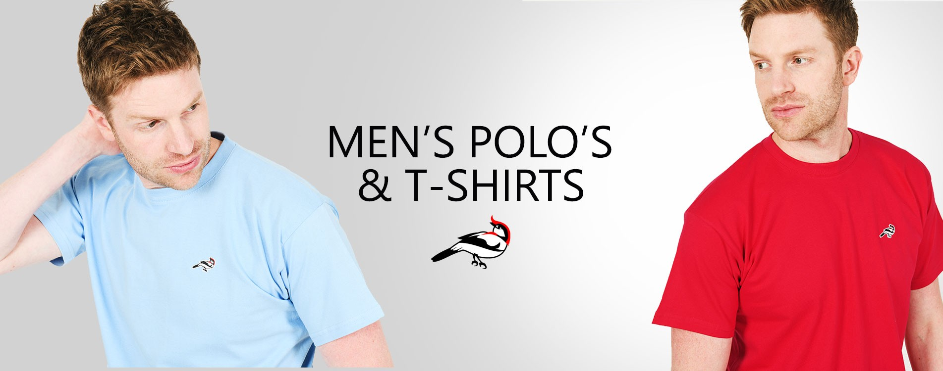 Men's Polo's and T-Shirts